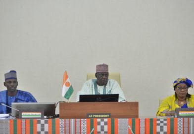 Assemblée Nationale: Discours de clôture de la Session Extraordinaire par le Président M. Ousseini TINNI