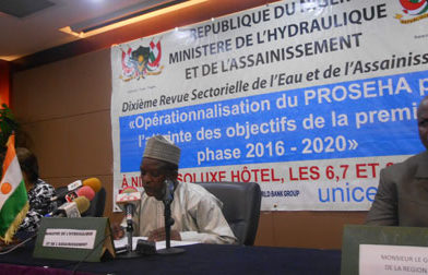 L'eau pour tous à travers le PROSEHA Niger