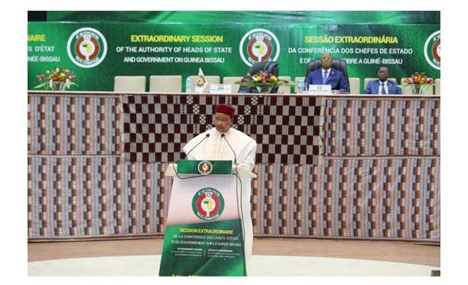 CEDEAO : Selon le Président Issoufou, « la CEDEAO ne peut tolérer, pour quelque raison que ce soit, la déstabilisation d'un État membre »