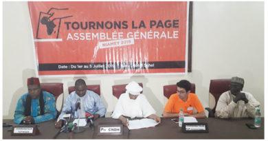 Assemblée Générale Internationale de TLP au Niger: Discours de M. Maikoul Zodi, Coordonnateur National de TLP-NIGER
