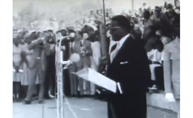 Discours prononcé par le 1er Président du Niger, Chef de l'État, feu Hamani Diori, à l'occasion de la Proclamation de l'Indépendance du Niger, le 3 août 1960