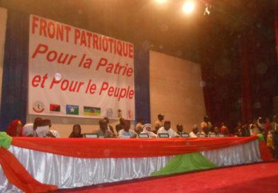 Création d'un nouveau front de l'opposition politique