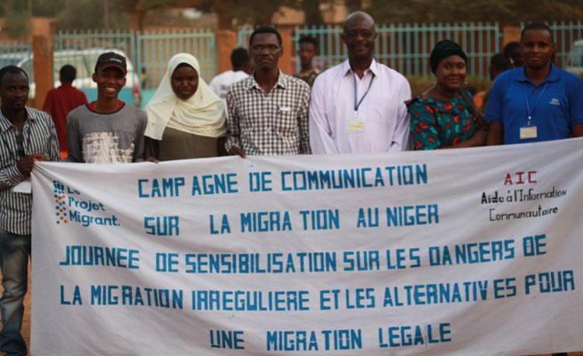 Le Projet Migrant au Niger : Sensibilisation sur les dangers de la migration clandestine et partage d'information sur les alternatives pour une migration légale