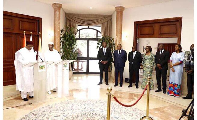 Allocution de SEM Issoufou Mahamadou à l'occasion de sa visite de travail et d'amitié en Côte d'Ivoire