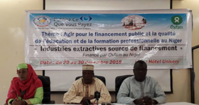 ROTAB Niger : Atelier sur le financement du secteur de l'Education à travers les redevances minières