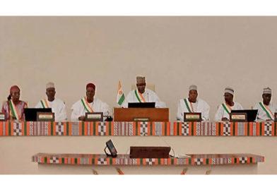 ASSEMBLEE NATIONALE : Discours de SEM OUSSEINI TINNI à l'occasion de la clôture de la 1ère Session ordinaire de l'Assemblée nationale au titre de l'année 2019