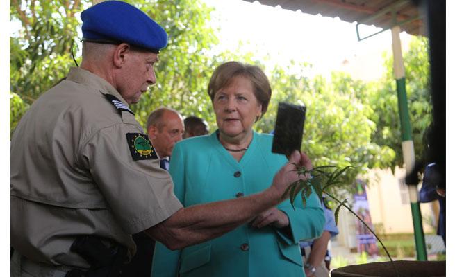 Communiqué de presse: La chancelière allemande Angela Merkel en visite à EUCAP Sahel Niger