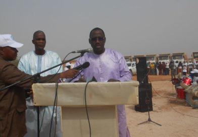 PGRC-DU à Dosso : Lancement des travaux de construction d'une digue-route de 2200 m de long et 7 m de large