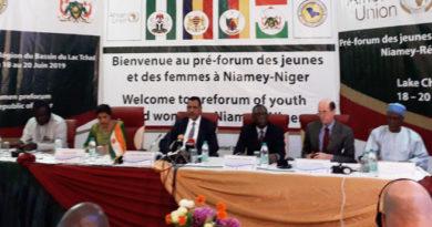 SECURITE : Ouverture du pré-forum régional des femmes et des jeunes du bassin du lac Tchad