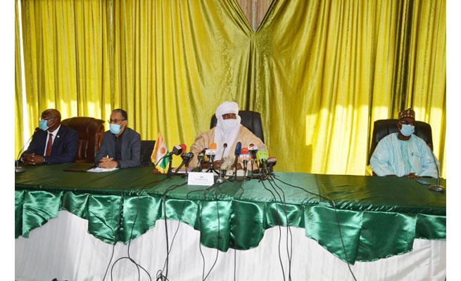SANTÉ : Point de la situation de la pandémie de la COVID – 19 au Niger (Conférence de Presse)