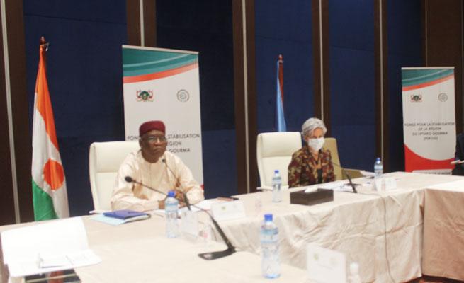 SÉCURITÉ : Le PNUD réaffirme sa disponibilité à accompagner le Gouvernement nigérien à maintenir la sécurité dans les zones de retour des populations déplacées (Réunion)