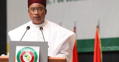 Allocution de Son Excellence Monsieur ISSOUFOU MAHAMADOU, Président de la République du Niger, Chef de l'Etat, Lors du 57eme Sommet de la Conférence des Chefs d'Etat et de Gouvernement de la CEDEAO :