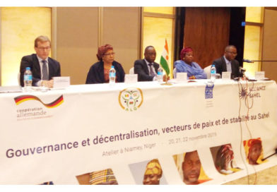 ATELIER REGIONAL : Le PNUD et l'Alliance Sahel face aux défis sécuritaires de la zone des « trois frontières »