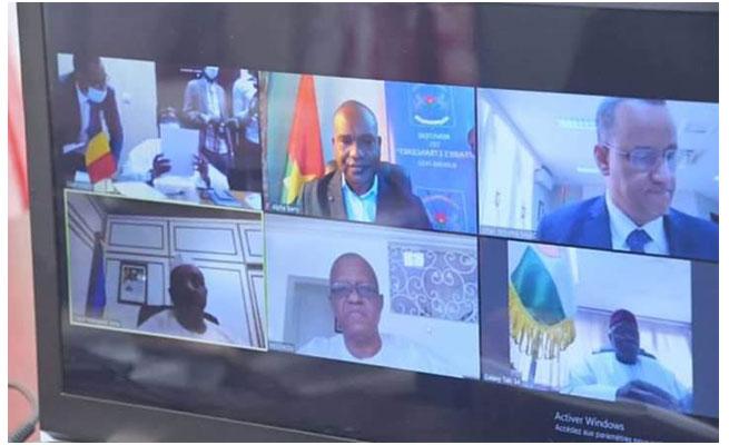 COVID-19 : Communiqué du Conseil des Ministres des Affaires Étrangères du G5 Sahel