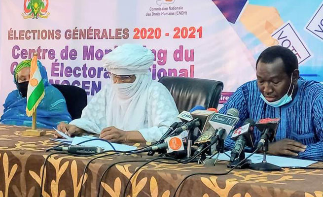 ÉLECTIONS 2020 : La CNDH salue la régularité du processus électoral (Communiqué)