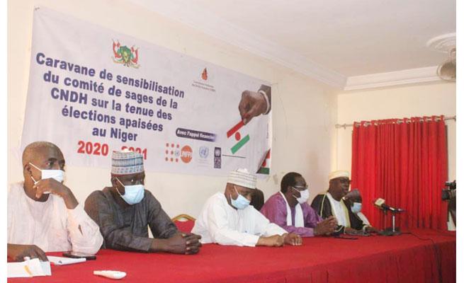 CNDH : Troisième appel du Comité des Sages pour des élections démocratiques apaisées au Niger