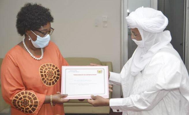 UNICEF : Dr. Félicité Tchibindat arrivée au terme de sa mission au Niger