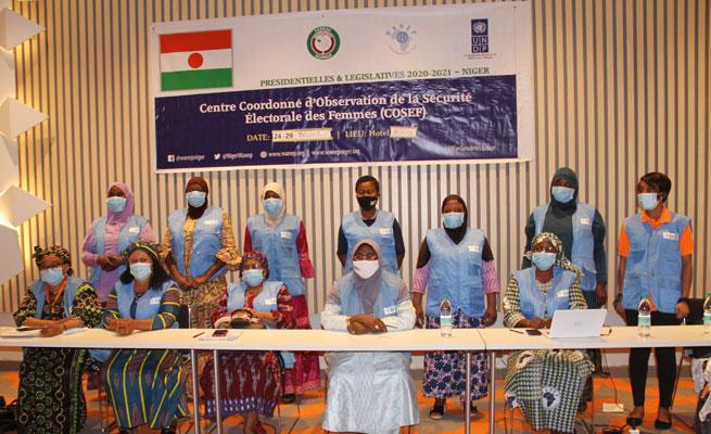 WANEP-Niger : Déclaration d'Entréedu Centre Coordonné d'Observation de la Sécurité Électorale des Femmes (COSEF)